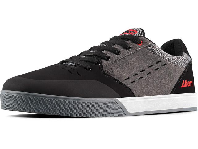 Afton Shoes Keegan Flatpedal Shoes Men grey-red